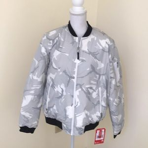 NWT! The North Face women's XL grey Barstol Bomber